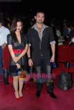 Twinkle Bajpai, Mahakshay Chakraborty at Vikram Bhatt_s Haunted 3-d first look in PVR on 7th Feb 2011 (5).JPG