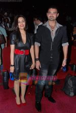 Twinkle Bajpai, Mahakshay Chakraborty at Vikram Bhatt_s Haunted 3-d first look in PVR on 7th Feb 2011 (7).JPG