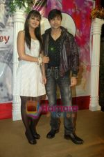 Shaleen Bhanot, Daljeet Kaur at Taz_s film mahurat Chal Joothey in Blue Waters on 10th Feb 2011 (2)~0.JPG