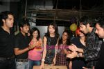 Parul Chaudhary, Manish Paul, Karan Grover at TV birthday bash of actor Parul Chaudhry in Amboli on 11th Feb 2011 (6).JPG