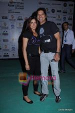 Shaan at Bryan Adams concert in MMRD, Bandra, Mumbai on 12th Feb 2011 (2).JPG