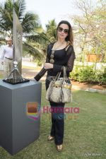 Laila Khan at Arzaan Khambatta_s art brunch in Madhuli, Worli on 13th Feb 2011 (2).JPG