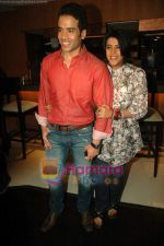 Tusshar Kapoor, Ekta Kapoor at Valentine event for singles in 21 farenheit on 14th Feb 2011 (5).JPG