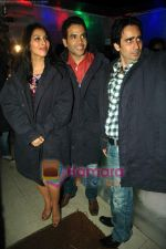 Tusshar Kapoor, Sophie Choudry at Valentine event for singles in 21 farenheit on 14th Feb 2011 (21).JPG