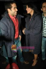 Tusshar Kapoor, Sophie Choudry at Valentine event for singles in 21 farenheit on 14th Feb 2011 (23).JPG