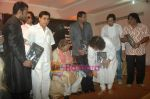 Jagjit Singh, Zakir Hussain, Ustad Sultan Khan, Talat Aziz, Talat Aziz, Salim at the launch of Zakir Hussain Album The Legacy by Ustad Sultan Khan and his son Sabir Khan in Juhu on 21st Feb 2011 (56).JPG