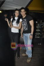 Koena Mitra, Muzammil Ibrahim at Le Soleil Cafe launch in Juhu, Mumbai on 24th Feb 2011 (2).JPG