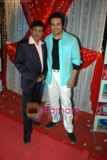 Krushna at the location of Comedy Circus in Andheri on 1st March 2011 (2).JPG