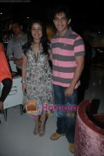 Aditya Narayan, Sunidhi Chauhan at Sunidhi Chauhan_s dinner party in Andheri on 3rd March 2011 (3).JPG