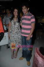 Aditya Narayan, Sunidhi Chauhan at Sunidhi Chauhan_s dinner party in Andheri on 3rd March 2011 (4).JPG