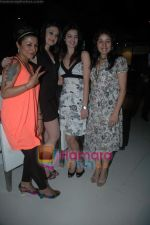 Hard Kaur, Shefali Jariwala, Sunidhi Chauhan Shweta Agarwal at Sunidhi Chauhan_s dinner party in Andheri on 3rd March 2011 (4).JPG