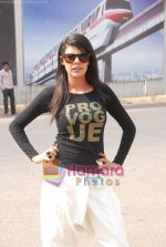 Sherlyn Chopra at CPAA women_s day celeberations in IMAX Wadala on 5th March 2011.JPG