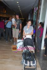 New Zealand criket team snapped shopping at Palladium with their kids n spouse on 19th March 2011 (34).JPG