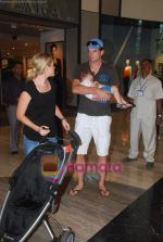 New Zealand criket team snapped shopping at Palladium with their kids n spouse on 19th March 2011 (83).JPG