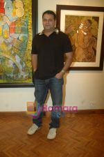 Suresh Menon at India Fine Art Event in Kalaghoda on 18th March 2011.JPG