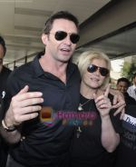 Hugh Jackman (Wolverine)  lands in  International Airport, Mumbai on 24th March 2011 (16).JPG