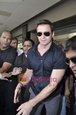 Hugh Jackman (Wolverine)  lands in  International Airport, Mumbai on 24th March 2011 (18).JPG