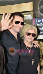 Hugh Jackman (Wolverine)  lands in  International Airport, Mumbai on 24th March 2011 (23).JPG