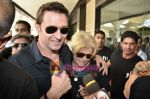 Hugh Jackman (Wolverine)  lands in  International Airport, Mumbai on 24th March 2011 (24).JPG