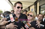 Hugh Jackman (Wolverine)  lands in  International Airport, Mumbai on 24th March 2011 (25).JPG