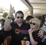 Hugh Jackman (Wolverine)  lands in  International Airport, Mumbai on 24th March 2011 (4).JPG
