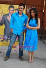 Amrita Rao, Tusshar Kapoor at Love U Mr Kalaakar promo shoot in Filmcity on 28th March 2011 (11).JPG