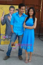 Amrita Rao, Tusshar Kapoor at Love U Mr Kalaakar promo shoot in Filmcity on 28th March 2011 (39).JPG