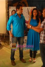 Amrita Rao, Tusshar Kapoor at Love U Mr Kalaakar promo shoot in Filmcity on 28th March 2011 (5).JPG
