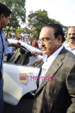 Chhagan Bhujbal leave for Mohali for cricket match on 30th March 2011 (2).JPG
