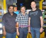Shankar, Director Satyajit and Loy at the Music Launch of Disney�s Zokkomon at Planet M on 31st March 2011.jpg