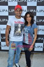 Nikhil Chinappa promote LIPA (Liverpool Institute for Performing Arts) in Olive on 1st April 2011.JPG