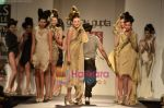 Model walks the ramp for Gaurav Gupta show on Wills Lifestyle India Fashion Week 2011-Day 4 in Delhi on 9th April 2011.JPG