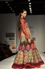 Model walks the ramp for virtues show on Wills Lifestyle India Fashion Week 2011-Day 4 in Delhi on 9th April 2011 (9).JPG