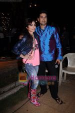 Rajeev Khandelwal, Soha Ali Khan on the sets of Soundtrack in Bandra, Mumbai on 9th April 2011 (2).JPG