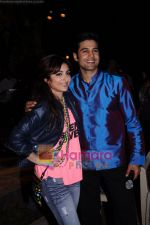 Rajeev Khandelwal, Soha Ali Khan on the sets of Soundtrack in Bandra, Mumbai on 9th April 2011.JPG