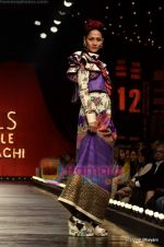 Model walks the ramp for Sabyasachi show on Wills Lifestyle India Fashion Week 2011-Day 5 in Delhi on 10th April 2011 (46).JPG