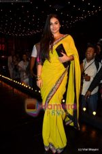 Vidya Balan at Sabyasachi show on Wills Lifestyle India Fashion Week 2011-Day 5 in Delhi on 10th April 2011 (18).JPG