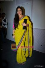 Vidya Balan at Sabyasachi show on Wills Lifestyle India Fashion Week 2011-Day 5 in Delhi on 10th April 2011 (4).JPG