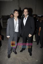 Sajid Nadiadwala, Fardeen Khan at Pantaloons Femina Miss India Finale in Mehboob Studio, Bandra, Mumbai on 14th April 2011 (19).JPG