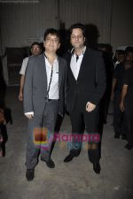 Sajid Nadiadwala, Fardeen Khan at Pantaloons Femina Miss India Finale in Mehboob Studio, Bandra, Mumbai on 14th April 2011 (2).JPG