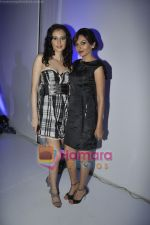 Mrinalini Sharma, Vaishali Desai at the Aston Martin launch bash in trident, Mumbai on 15th April 2011.JPG
