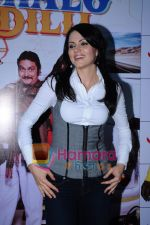 Yana Gupta Does Flash Mob activity to promote Chalo Dilli in   Phoenix Mills on 15th April 2011 (12)~0.JPG
