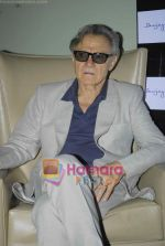 Harvey Keitel ties up with Bollywod producer of film Udaan Sanjay Singh in Colaba on 20th April 2011.JPG