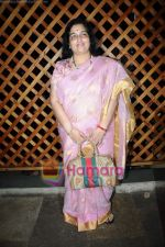 Anuradha Paudwal at Food Food channel bash hosted by Sanjeev Kapoor in Bunglow 9 on 22nd April 2011 (2).JPG