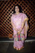 Anuradha Paudwal at Food Food channel bash hosted by Sanjeev Kapoor in Bunglow 9 on 22nd April 2011 (76).JPG