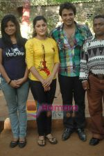 at Bhojpuri film Damad Chahi Fokat Mein shoot in Madh on 22nd April 2011 (38).JPG