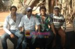 at Bhojpuri film Damad Chahi Fokat Mein shoot in Madh on 22nd April 2011 (44).JPG