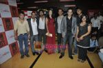 Amit Mistry, Krishna Dk, Nikhil Dwivedi, Preeti Desai, Raj Nidimoru, Tusshar Kapoor, Sundeep Kishan at Premiere of Shor in the City in Cinemax, Mumbai on 27th April 2011 (45).JPG