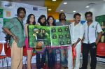 Shilpa Shukla, Shweta Verma, Caterina Lopez, Prashant Narayanan, Pawan Malhotra at Film Bhindi Bazaar Inc music launch in Radio City 91.1 FM, Babdra, Mumbai on 27th April 2011 (12).JPG
