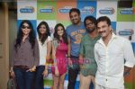Shilpa Shukla, Shweta Verma, Caterina Lopez, Prashant Narayanan, Pawan Malhotra at Film Bhindi Bazaar Inc music launch in Radio City 91.1 FM, Babdra, Mumbai on 27th April 2011 (4).JPG